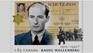 Raoul Wallenberg Canadian stamp