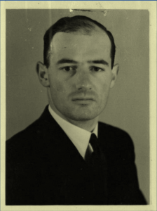 Photo Credit:  Raoul Wallenberg's photo on a 1943 visa application, The Hungarian National Archives, Budapest